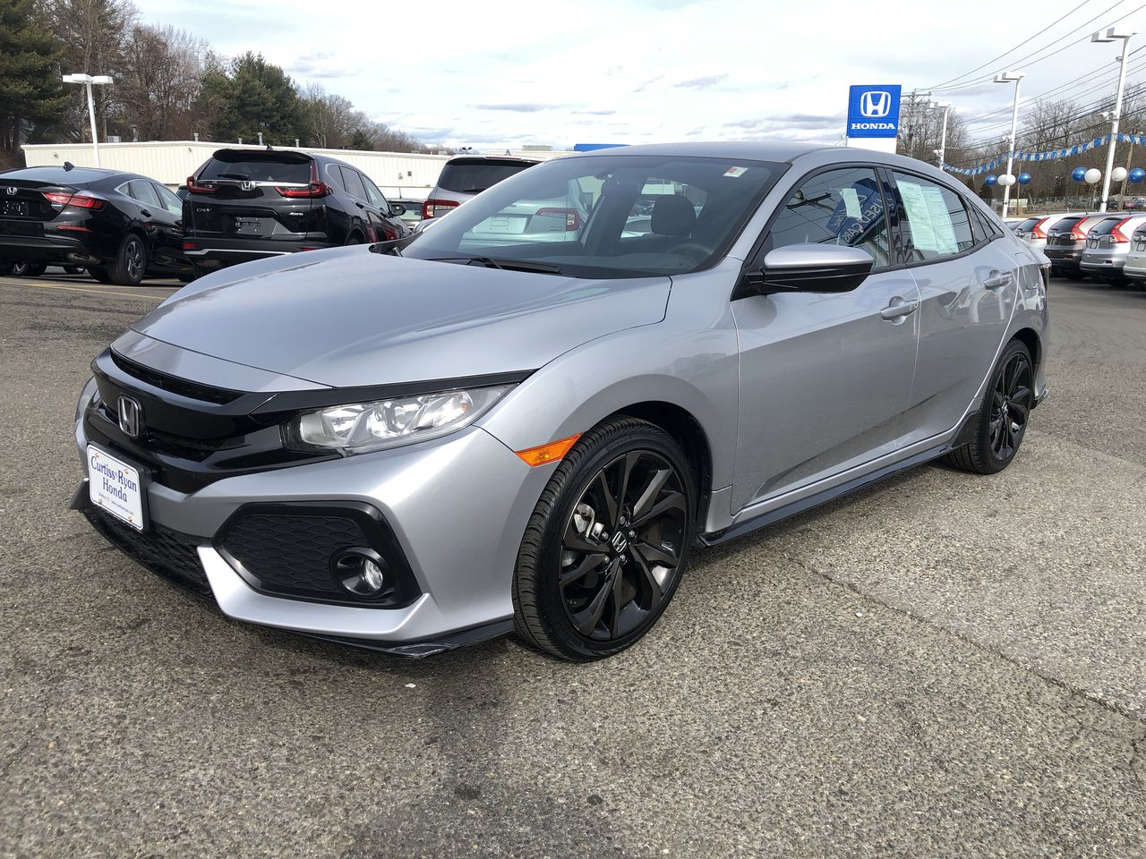 Certified Pre-Owned 2017 Honda Civic Sport